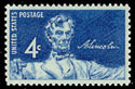 Scott #1116, 4¢ Lincoln Sesquicentennial stamp of 1959